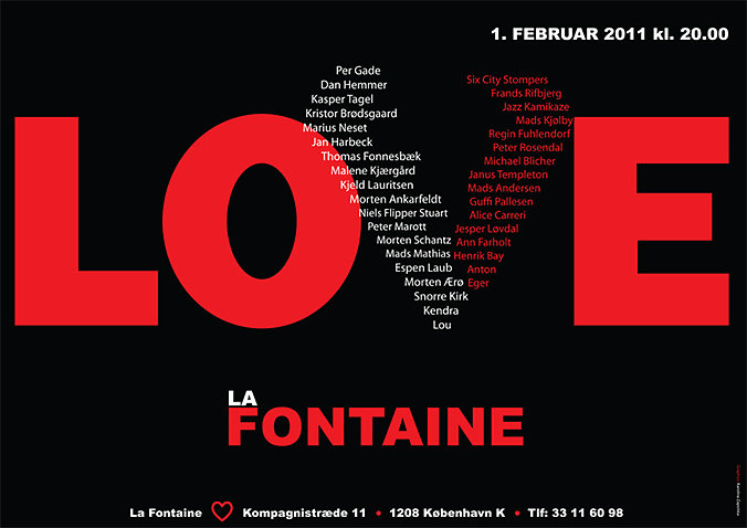 Love La Fontaine plakat5